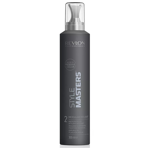 REVLON Style Masters: Мусс для волос средней фиксации (Styling Mousse Modular), 300мл