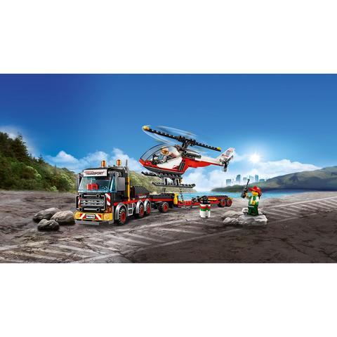 LEGO City: Перевозчик вертолета 60183 — Heavy Cargo Transport — Лего Сити Город