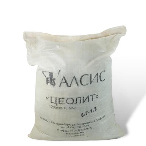 Цеолит  (фракция 0,7-1,5 мм, 25 кг)