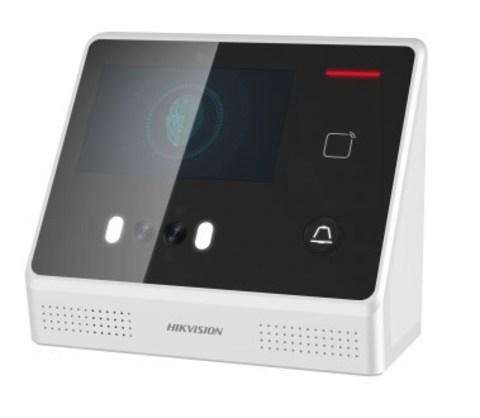 Терминал распознавания лиц DS-K1T8105M со встроенным считывателем карт Mifare