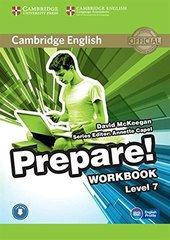 Cambridge English Prepare! Level 7 Workbook wit...