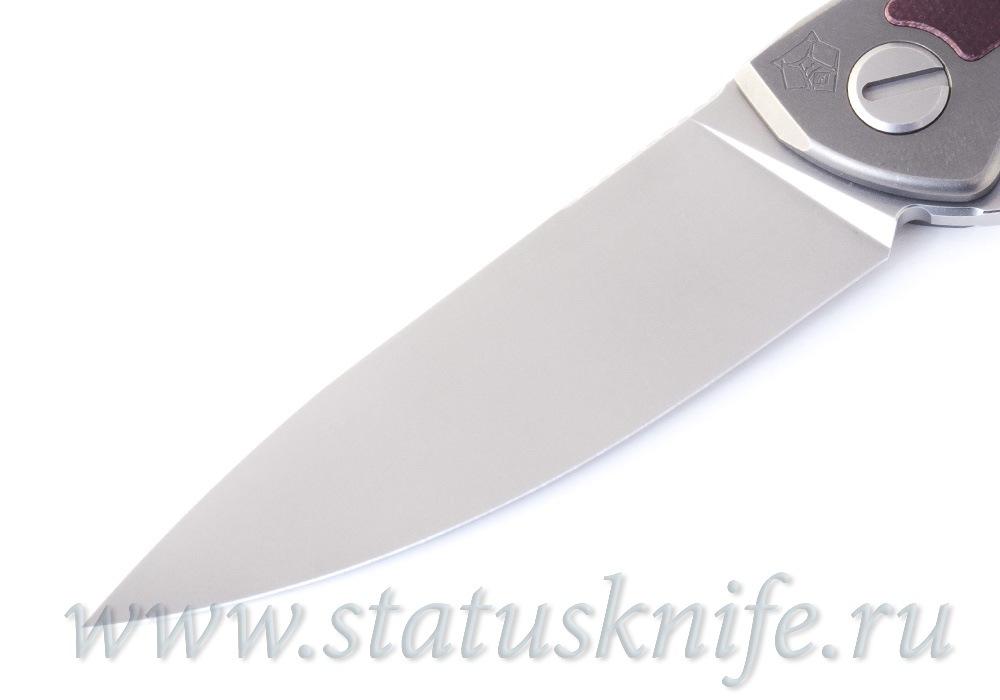 Нож Широгоров Неон NeOn NL Elmax micarta maroon - фотография