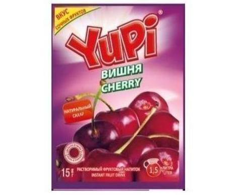 Растворимый напиток Yupi вишня 15 г