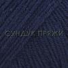 Пряжа Gazzal Baby Cotton XL 3438 (тёмно-синий)