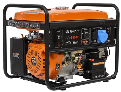 Генератор бензиновый Daewoo GDA 6500E Master Line