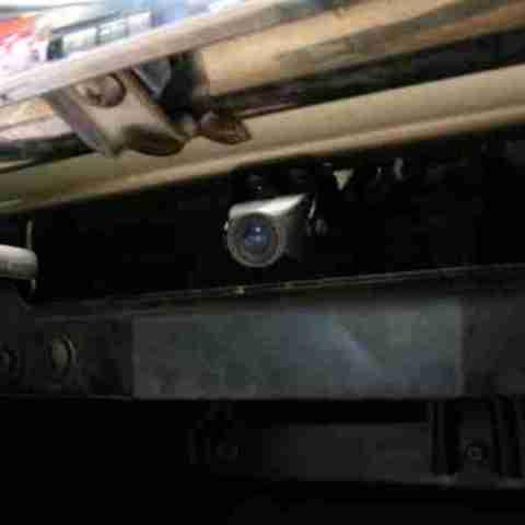 Установка камеры заднего вида в Патриот