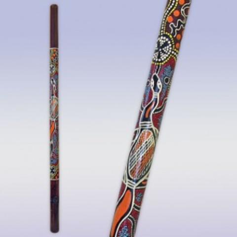 Диджериду  Бамбук роспись