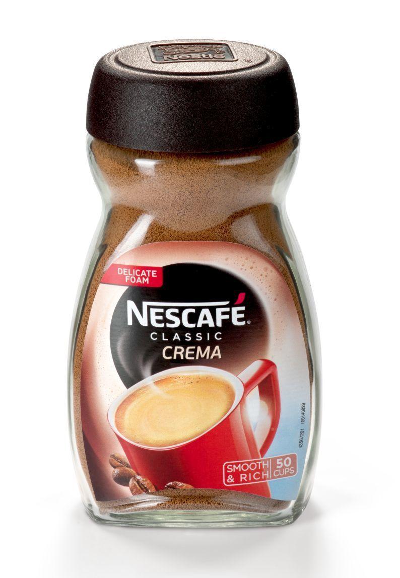 Nescafe CLASSIC CREMA 95г стекло