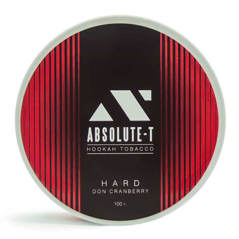 Табак Absolute-T Hard Don Cranberry (Клюква) 100 г