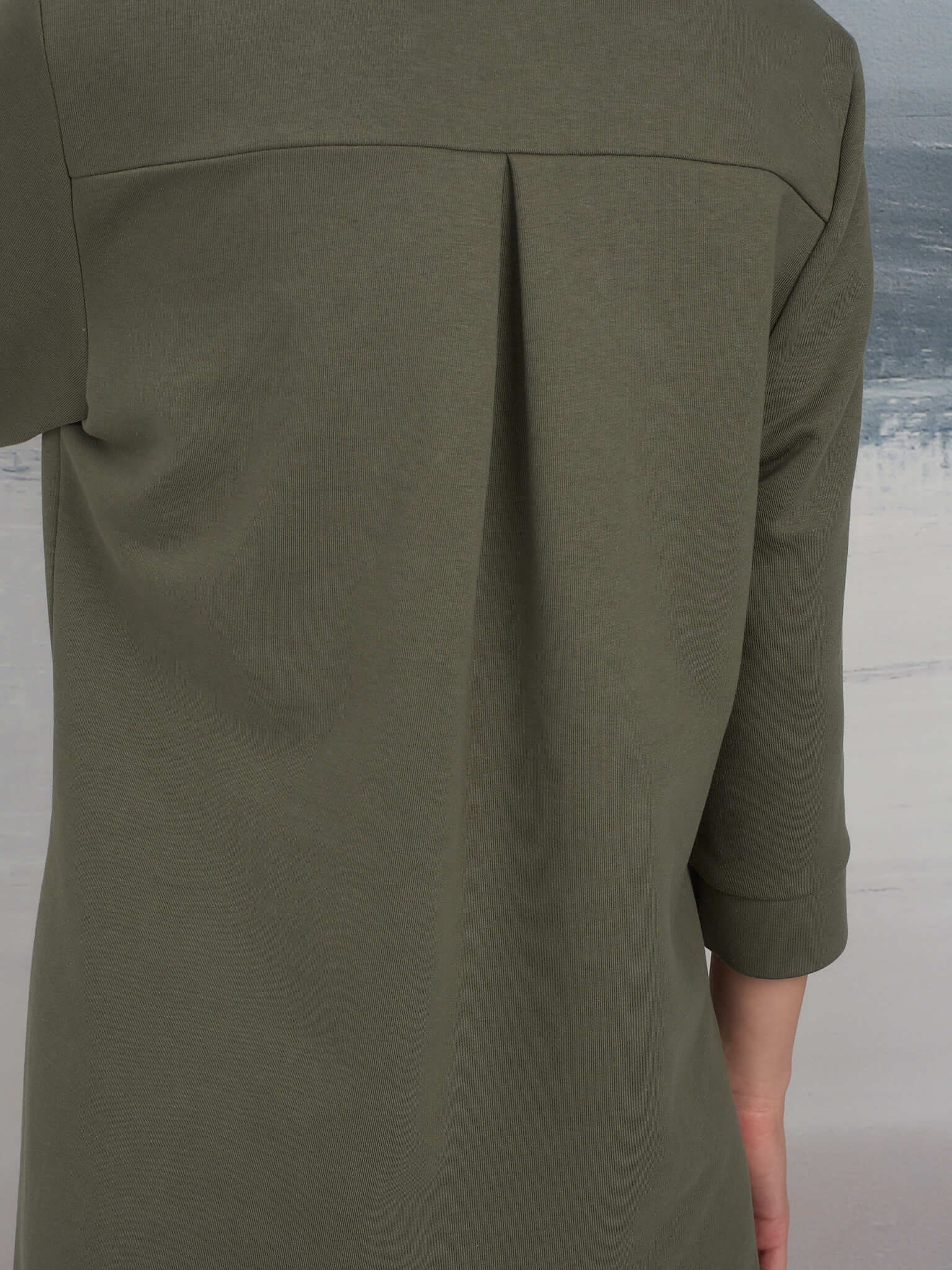 Платье-рубашка на кнопках