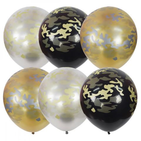 Воздушные шары милитари