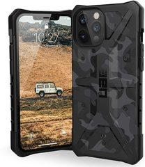 Чехол Uag Pathfinder SE Camo для iPhone 12/12 Pro черный камуфляж (Midnight Camo)