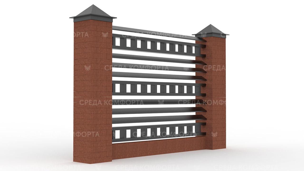 Забор жалюзи ZBR0134
