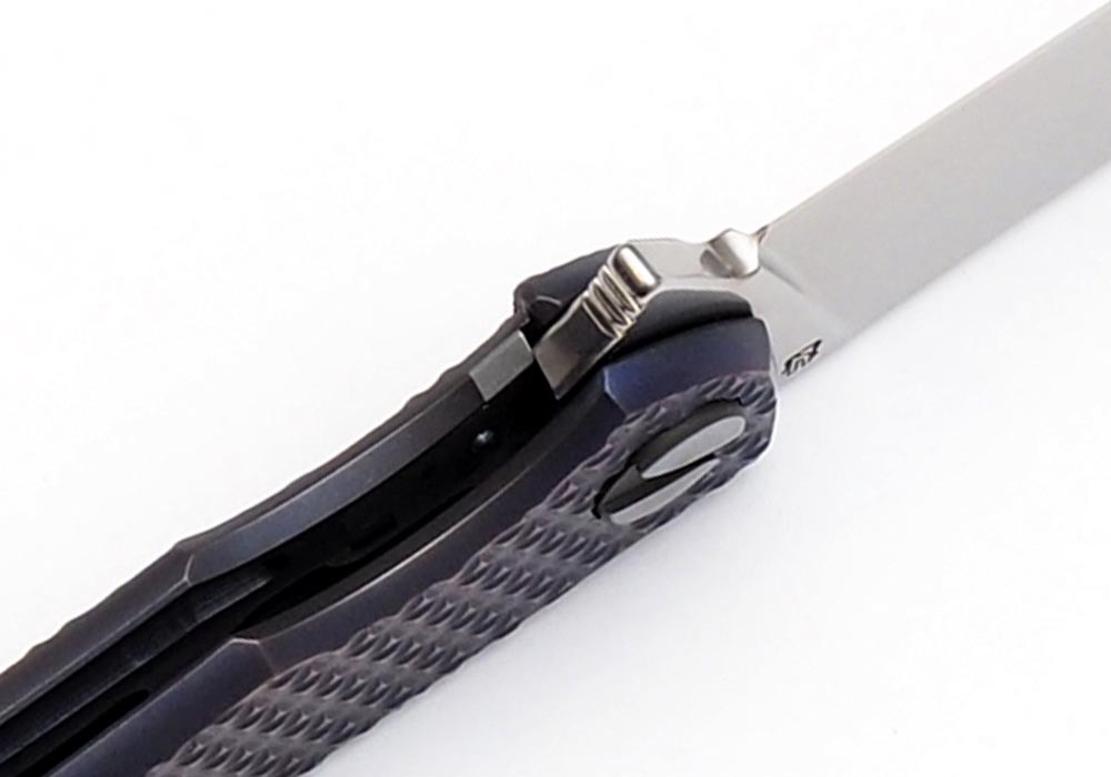 Нож Чебуркова Фриз М390 Титан анодирование - фотография