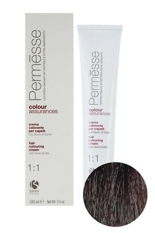 Крем-краска для волос 4.8 Горький шоколад Permesse, Barex