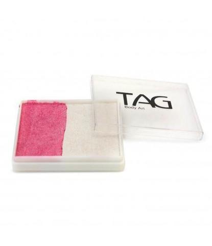 Аквагрим TAG 50 гр перламутровый белый/розовый