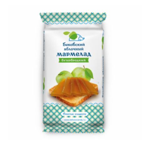 Бековский яблочный бутербродный мармелад 270 грамм