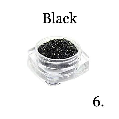 Хрустальная крошка(мелкая) черная 6 купить за 350руб