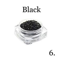 Хрустальная крошка(мелкая) черная 6