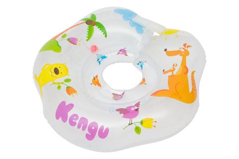 Надувной круг на шею для купания малышей Kengu
