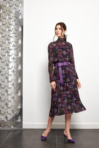 Dorothee Schumacher Платье 2-в-1 в графический принт Love