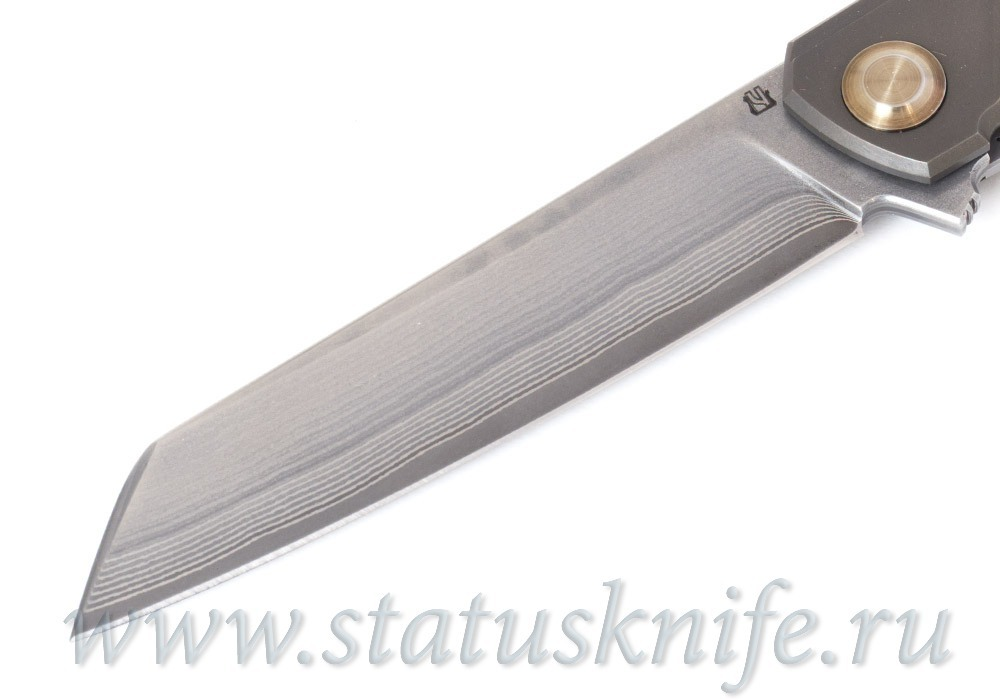 Нож Чебуркова Дракон Ламинат, Титан, Лимитированный - фотография