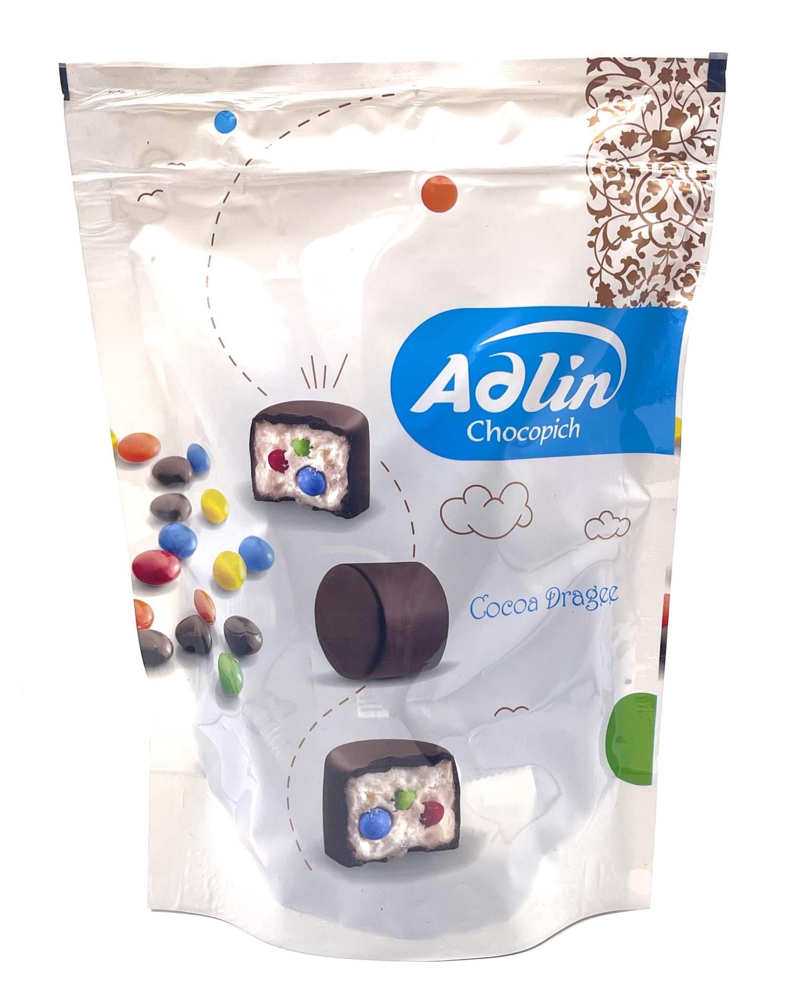Adlin Пишмание со вкусом ванили с драже в шоколадной глазури, Adlin, 350 г import_files_f2_f28c3759120b11ecaa02484d7ecee297_f46e20e1120811ecaa02484d7ecee297.jpg