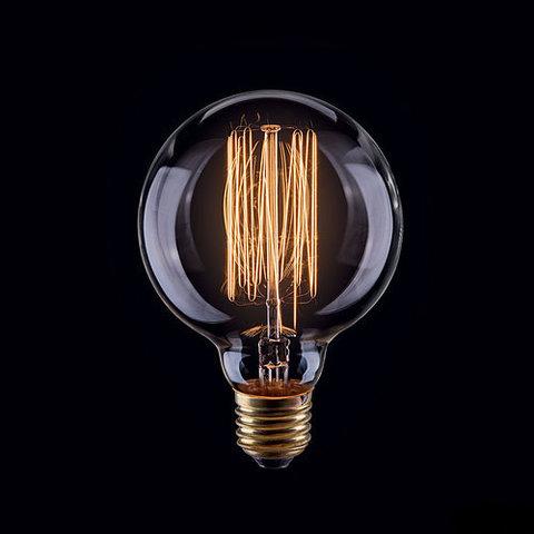 Ретро лампа Эдисон G80
