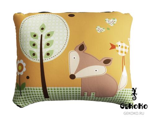 Подушка для шеи, трансформер Gekoko «Лесные истории Лиса» 4