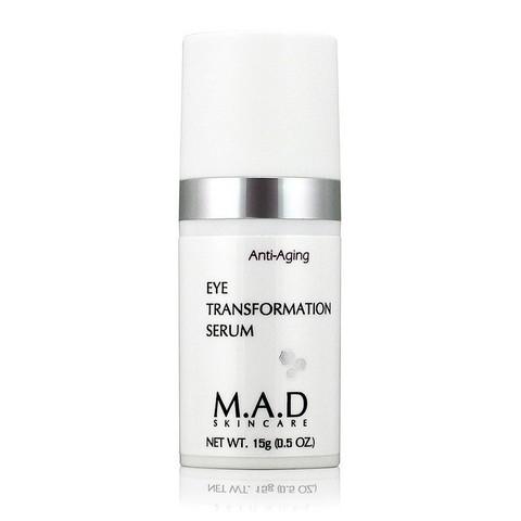 Сыворотка для ухода за кожей вокруг глаз с омолаживающим эффектом M.A.D Skincare Anti-Aging Eye Transformation Serum, 15 мл.