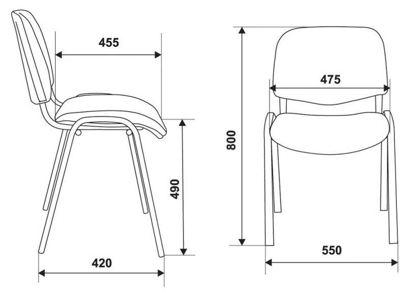 Офисный стул Виси