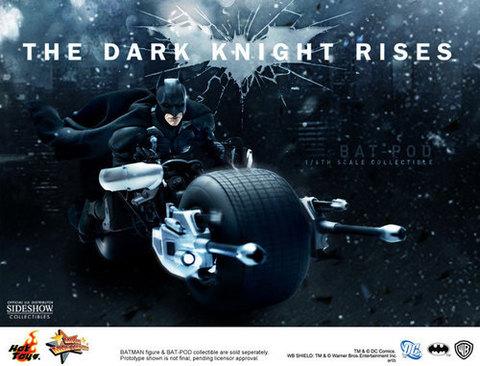 The Dark Knight Bat-pod 1/6 Scale