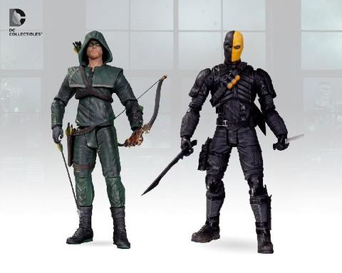 Стрела фигурки Оливер Куин и Дезстроук — Arrow Oliver Queen & Deathstroke