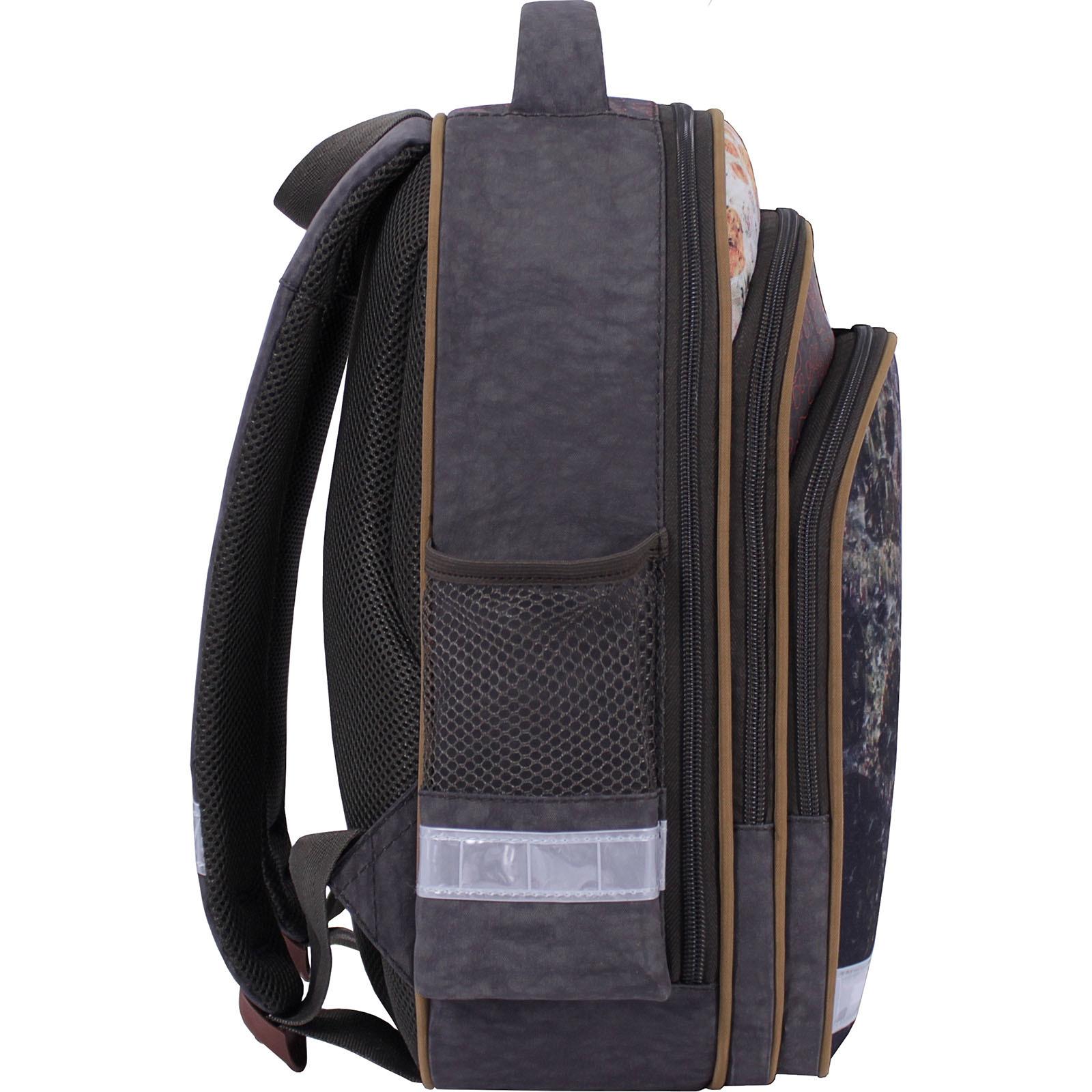 Рюкзак школьный Bagland Mouse 327 хаки 513 (0051370) фото 3