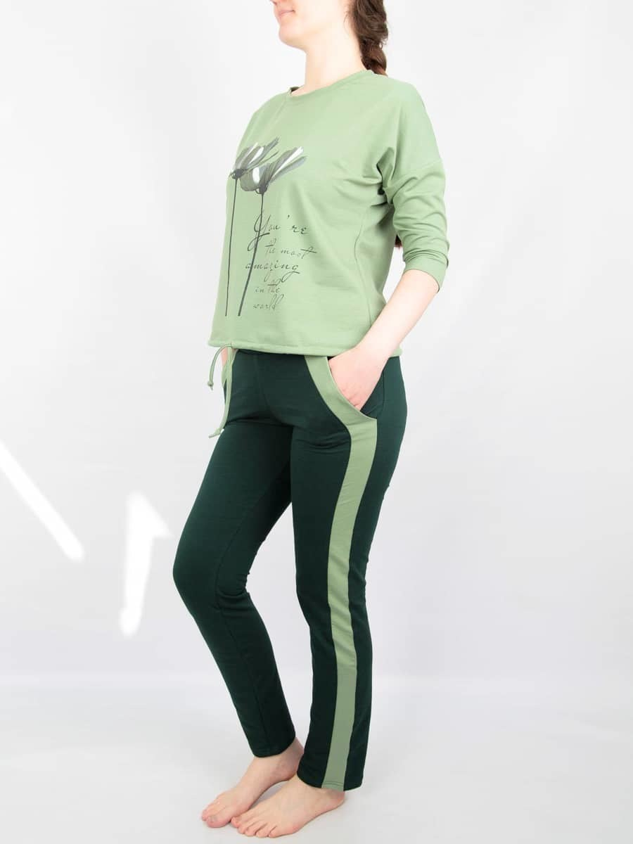 МарЛен Комплект женский толстовка+брюки