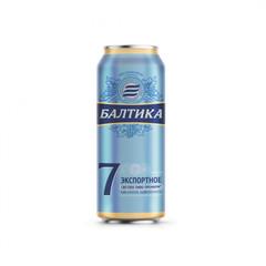Pivə \ Пиво \ Beer Baltika 7% 0.5 L (dəmir qab)