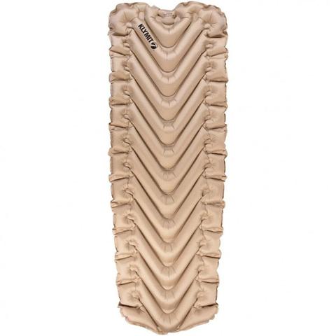 Надувной коврик Klymit Insulated Static V LUXE SL, песочный