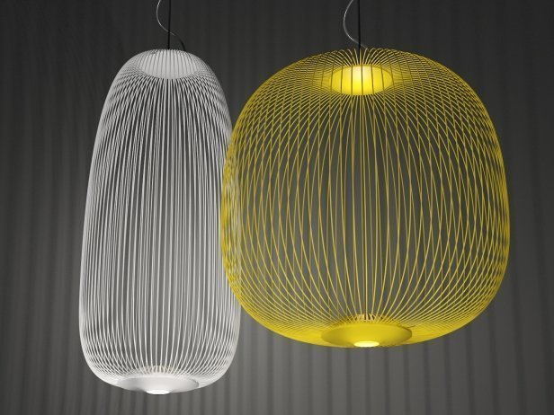 Подвесной светильник копия Spokes 2 by Foscarini (желтый)
