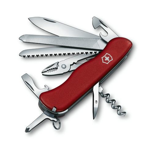 Складной швейцарский нож Victorinox Tradesman, 111 мм., 18 функций (0.9053) - Wenger-Victorinox.Ru