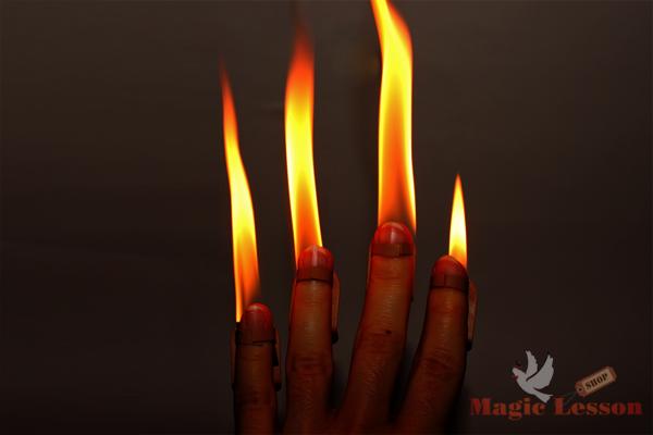 Огонь на кончиках пальцев