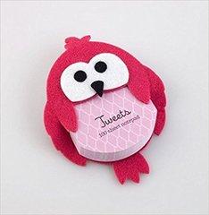 Tweets Notepad pink
