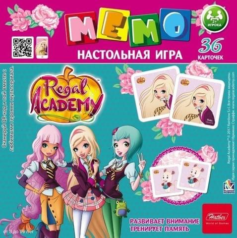 МЕМО 36 карточек Королевская академия