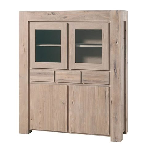 Шкаф с витриной 43 Бъерн