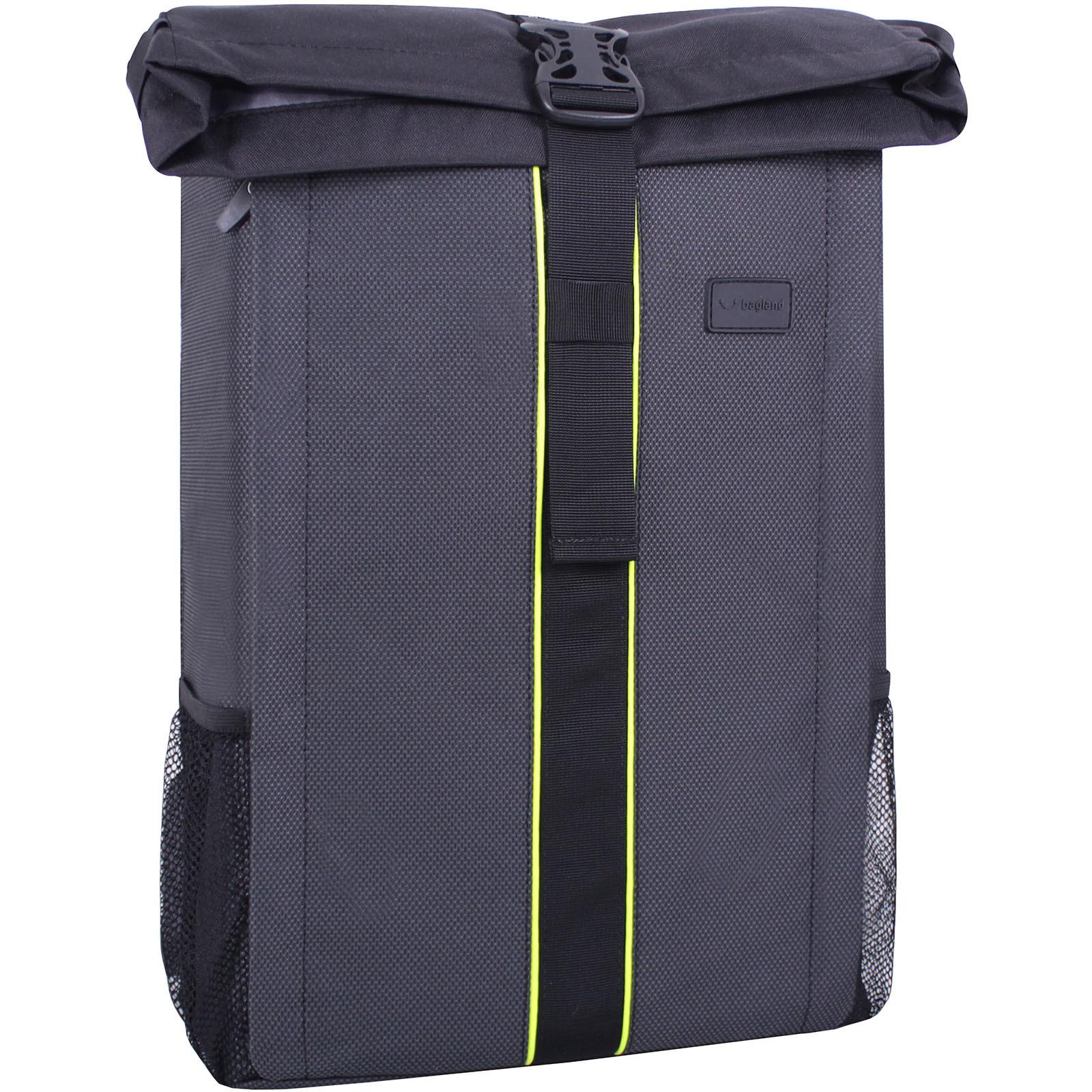 Рюкзак для ноутбука Bagland Roll 21 л. Чёрный (00156169) фото 1