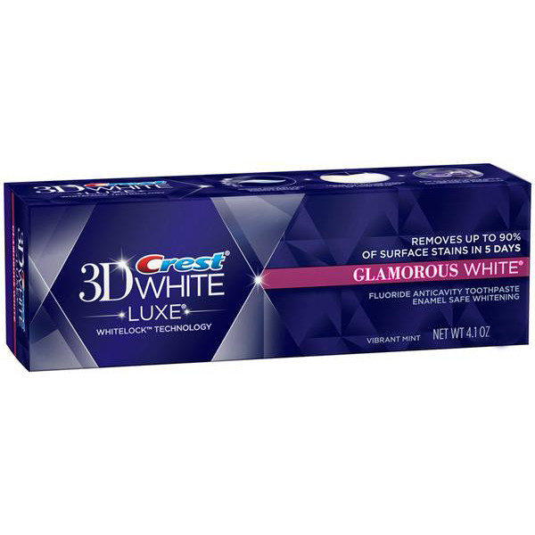 Отбеливающая зубная паста Crest 3D White Crest Glamorous 99 гр