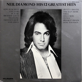 Neil Diamond / His 12 Greatest Hits (LP)