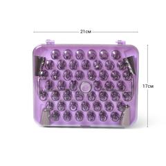 8511 FISSMAN Набор из 52 насадок на кондитерский мешок с 2 кондитерскими гвоздями и адаптером