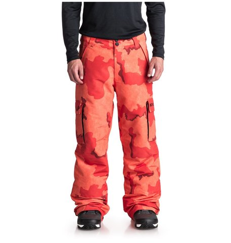 Брюки сноубордические DC Shoes BANSHEE Pnt M SNPT NMN6 RED ORANGE DCU CAMO MEN
