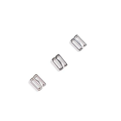 Крючок для бретели серебро 10 мм (металл)