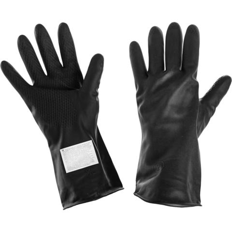 Перчатки защитные КЩС тип 1 из латекса